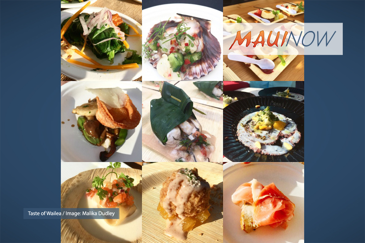 "Maui Film Festival 2018 ""Taste"" Events"