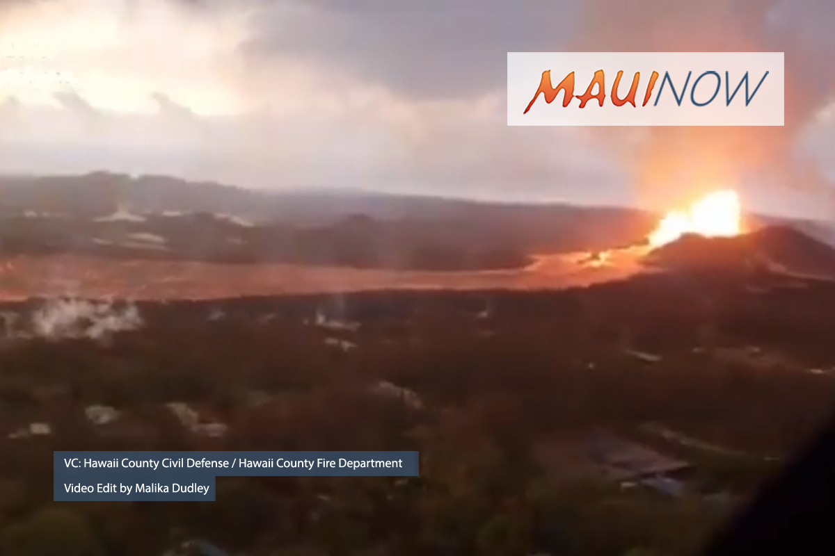 New Video Follows Fissure 8 Lava River to Ocean Entry