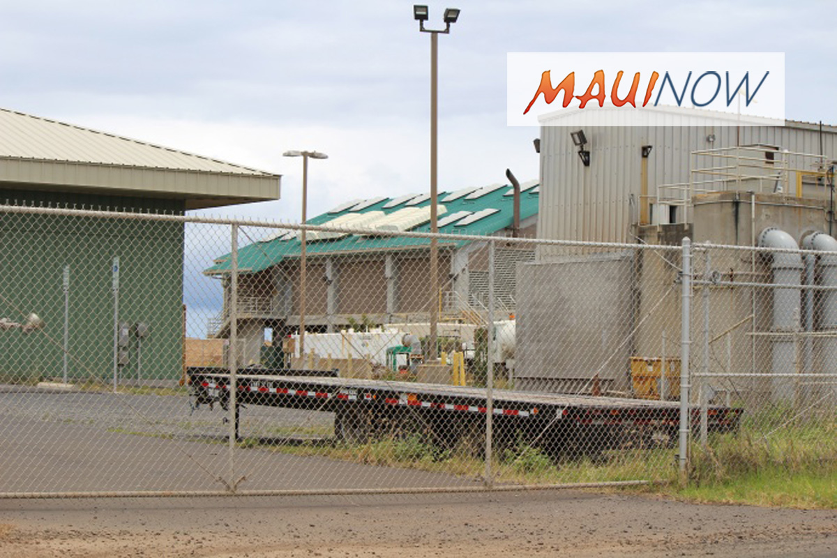 Kahului Wastewater Facility Focus of Mayor's TV Show
