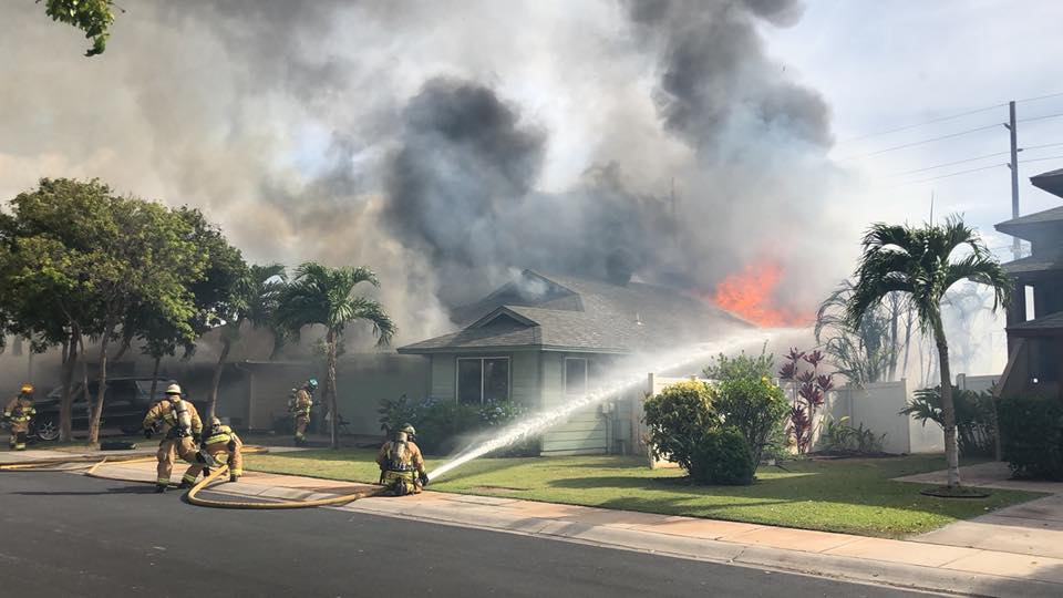 Maui Now : Fireworks Likely Cause of Kīhei Fire: Two Homes ...