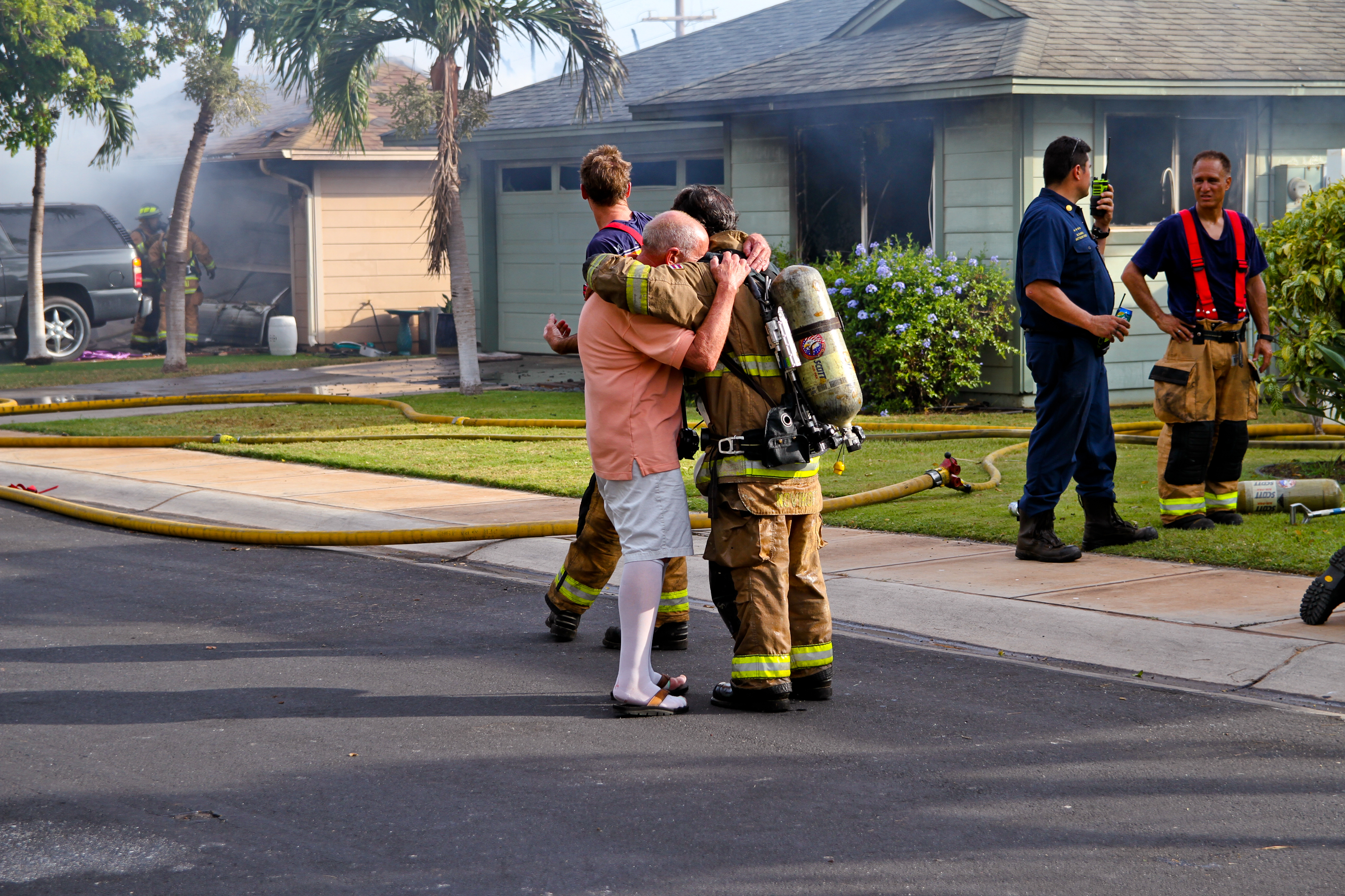 Fireworks Likely Cause of Kīhei Fire: Two Homes Destroyed, Four Others Damaged