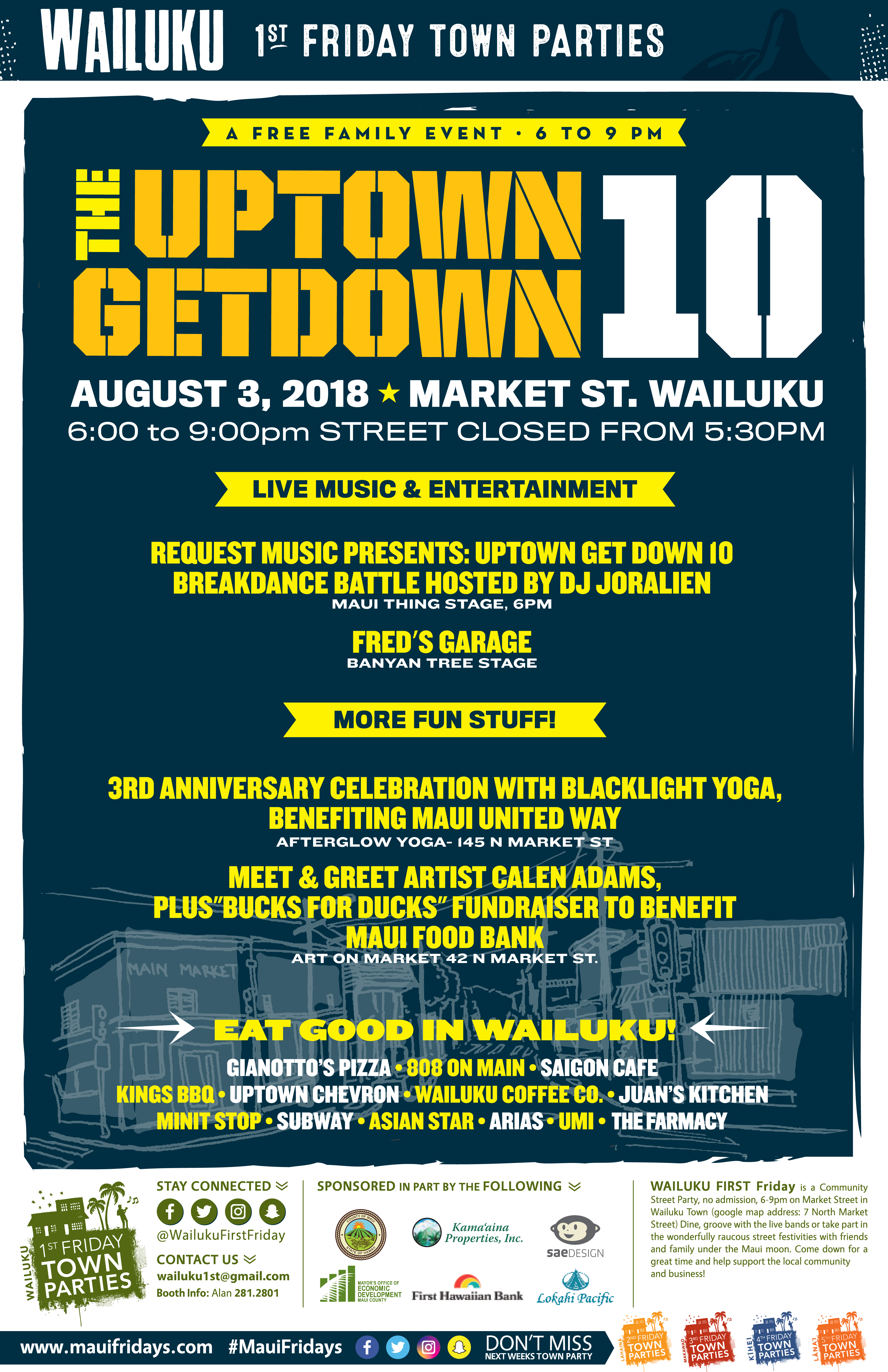 Breakdancing Competition Featured at Wailuku First Friday