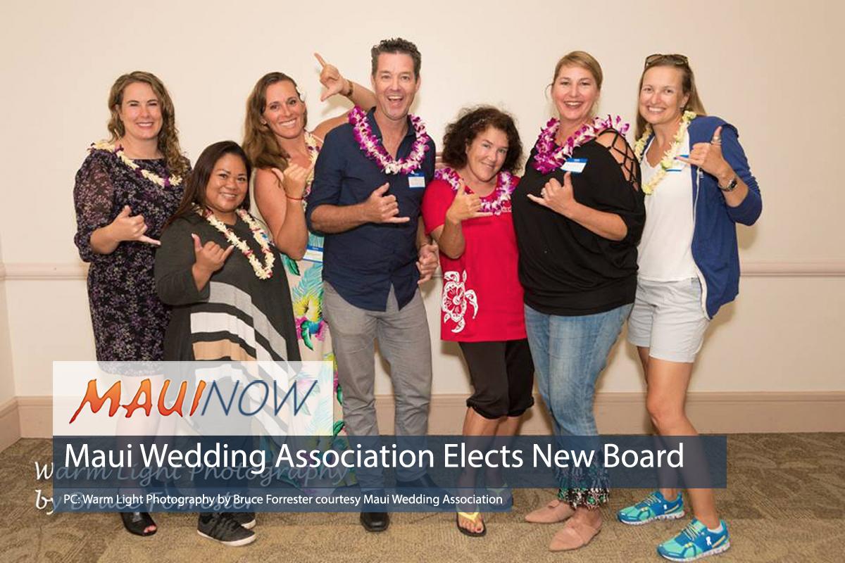 Maui Wedding Association Elects New Board