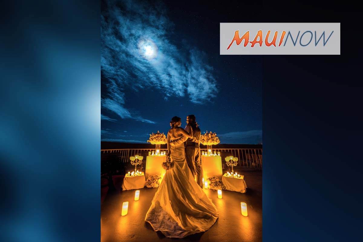 Starlight, Starbright: Hyatt Regency Maui Rolls Out Rooftop Weddings