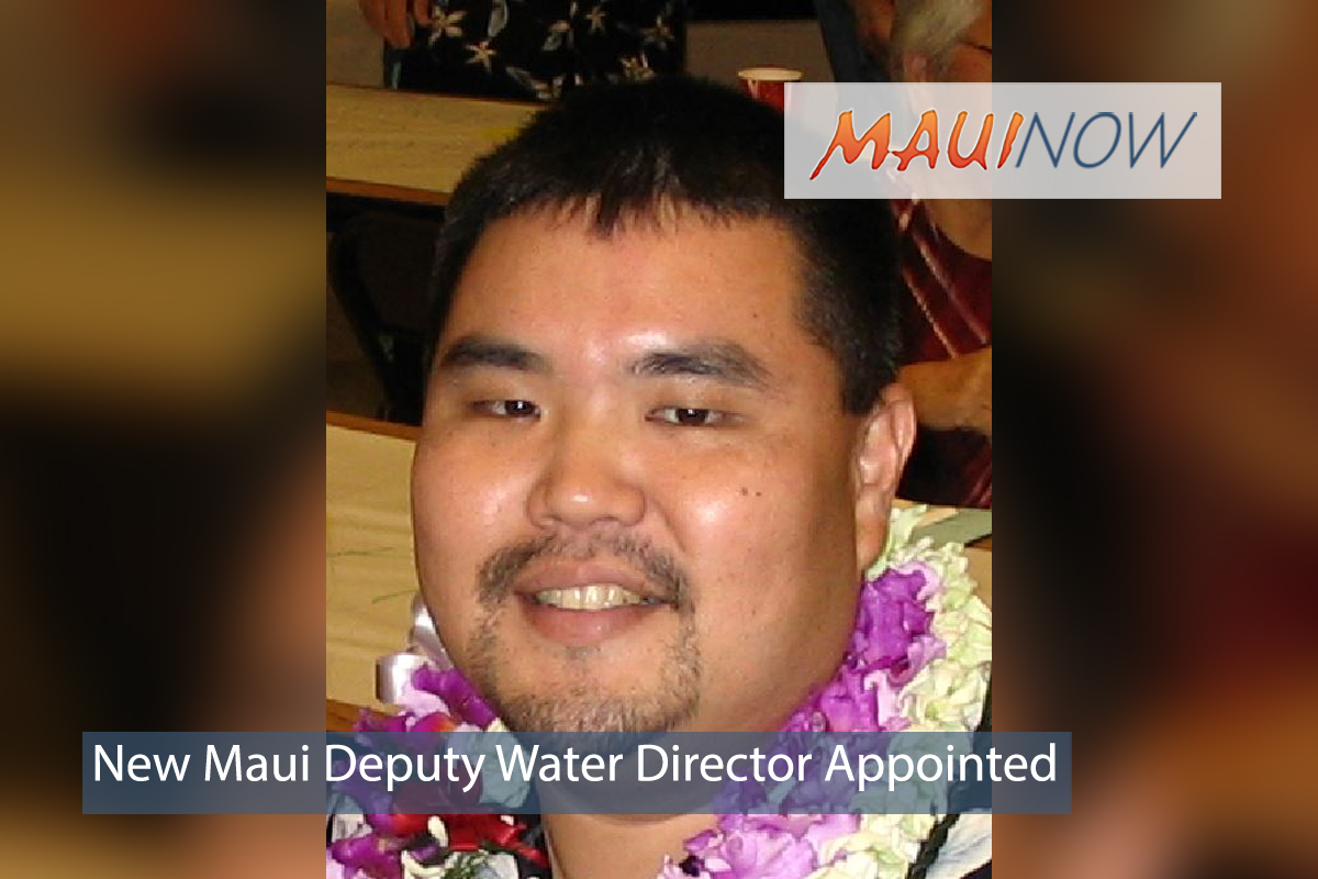 New Maui Deputy Water Director Appointed