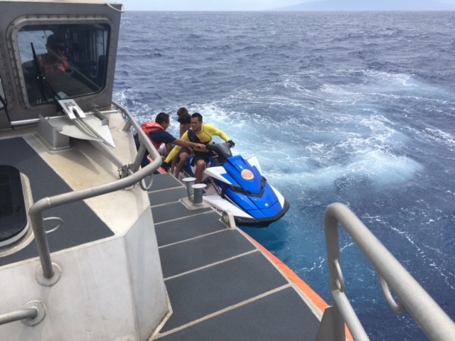 Three Visitors Rescued off Papalaua Beach, Maui