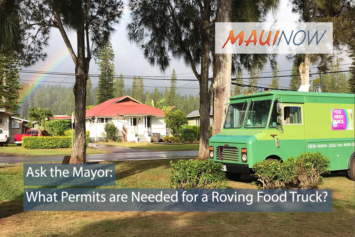 Ask the Mayor: What Permits are Needed for a Roving Food Truck?