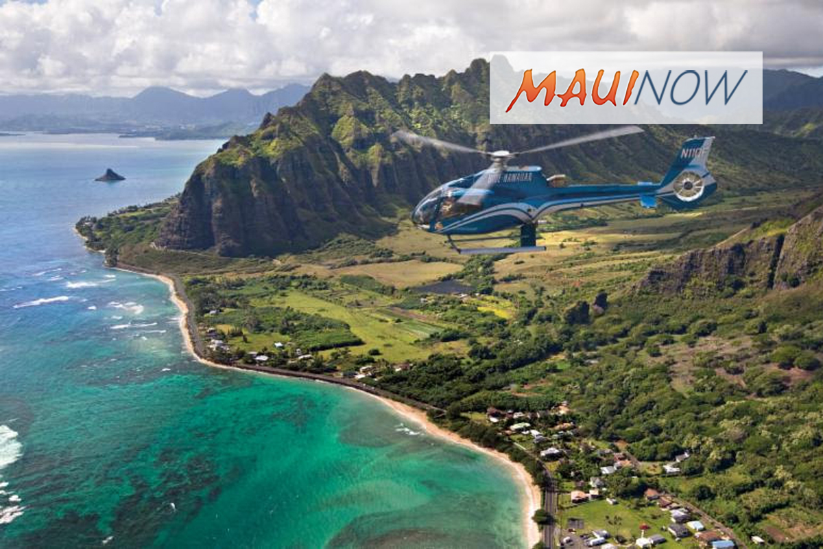 Blue Hawaiian Helicopters Celebrates Girls in Aviation Day, Oct. 13