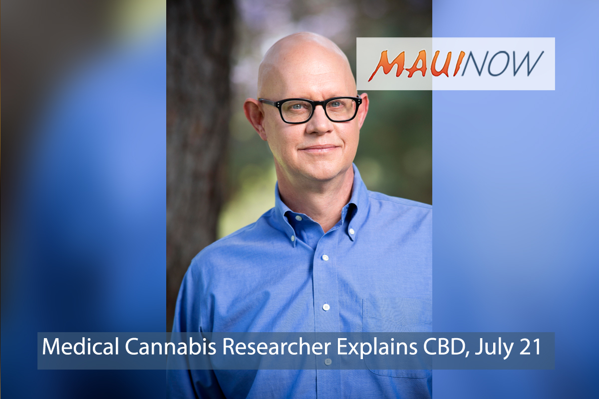 Medical Cannabis Researcher Explains CBD, July 21