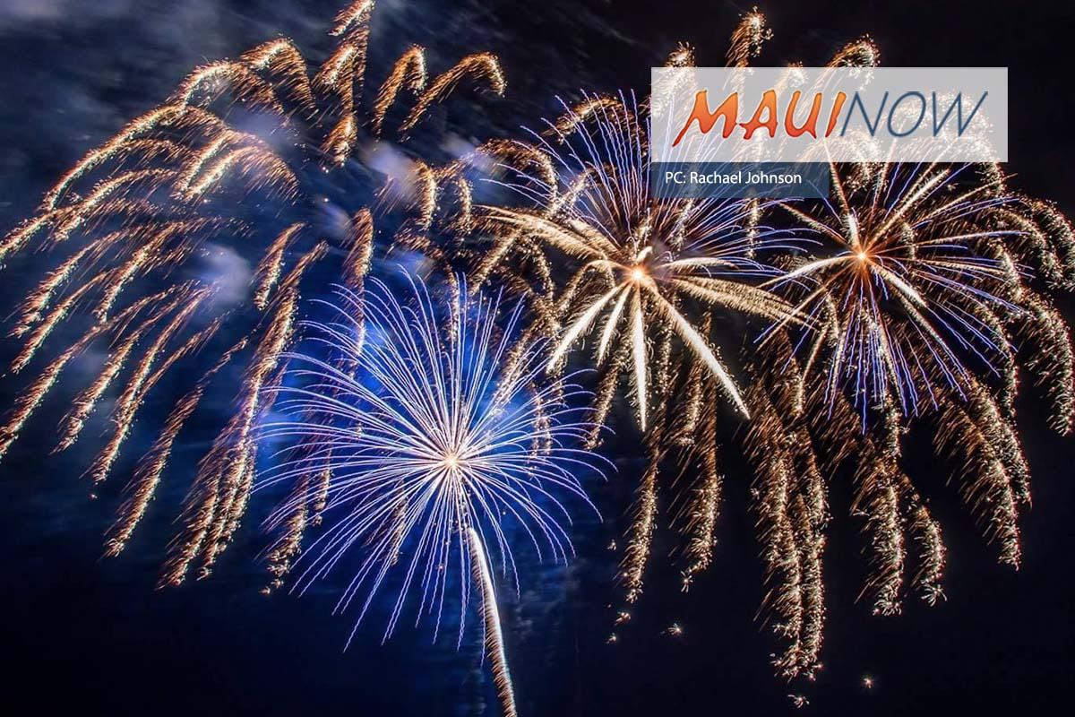 Maui New Year's Eve Fireworks Information