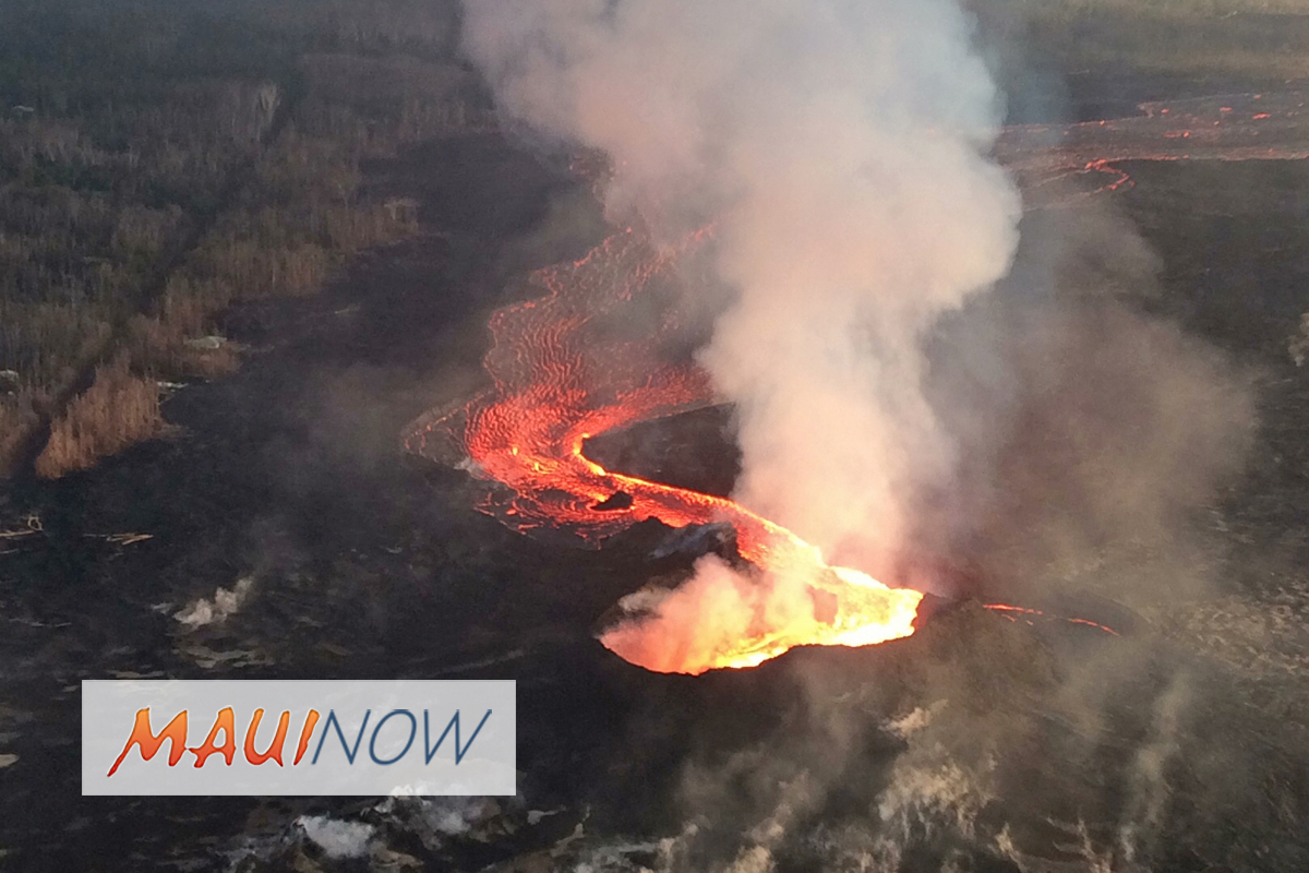 Emergency Relief Period Extended for Hawai'i Island Lava Flow