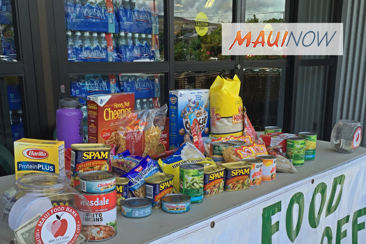 State and Maui County Officials Make Effort to Feed Hungry