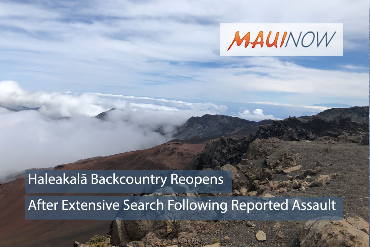 Haleakalā Backcountry Reopens After Assault on Hiker