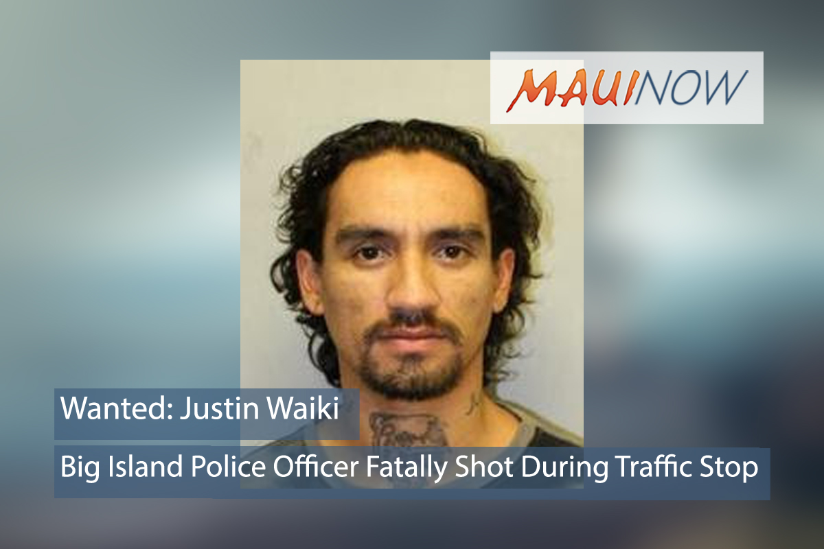 Big Island Officer Fatally Shot During Traffic Stop