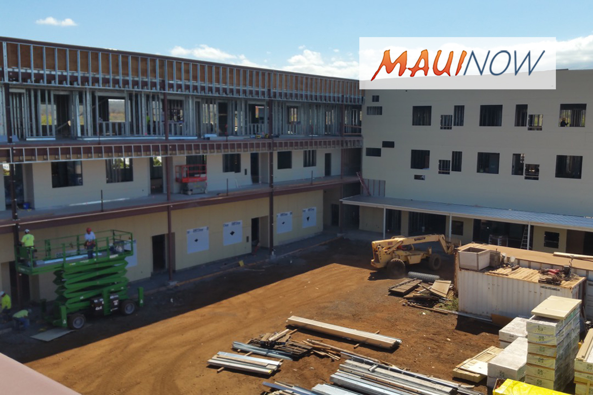 Kīhei Charter School Projects Late August 2018 Opening
