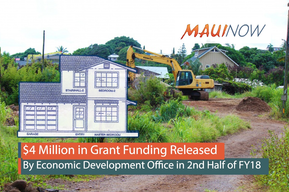 $4 M in Grants Released by Maui Economic Development Office