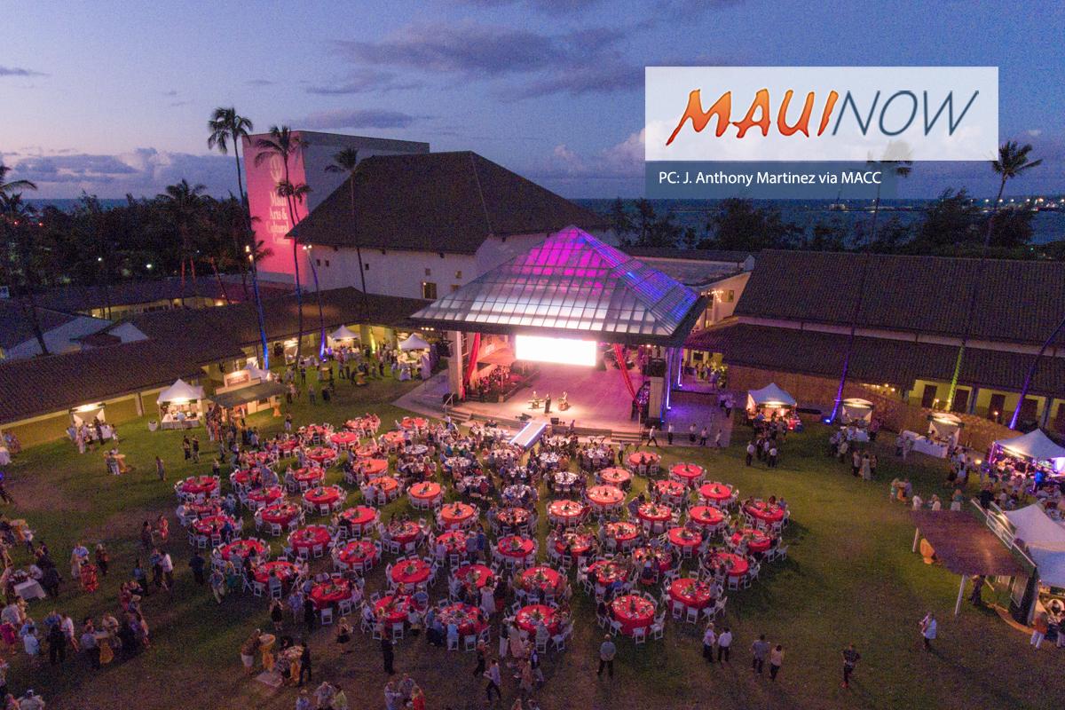 MACC's Signature Fundraising Gala, Maui Calls: Aug. 18