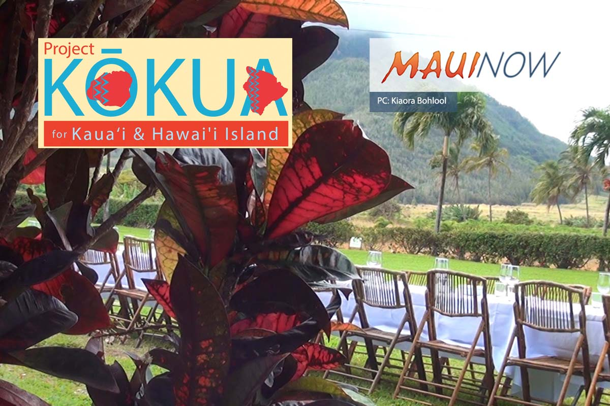 Maui Chefs Host Project Kōkua Culinary Fundraiser for Kaua'i & Hawai'i Island