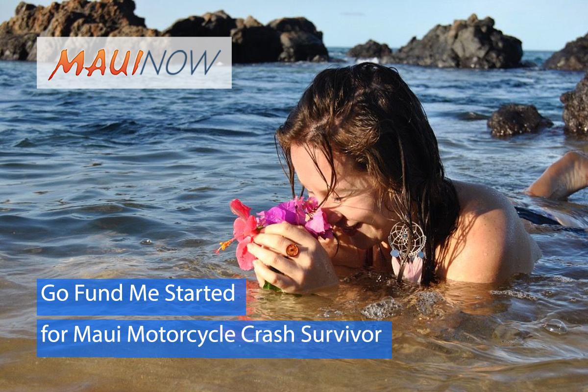 Go Fund Me Started for Maui Motorcycle Crash Survivor