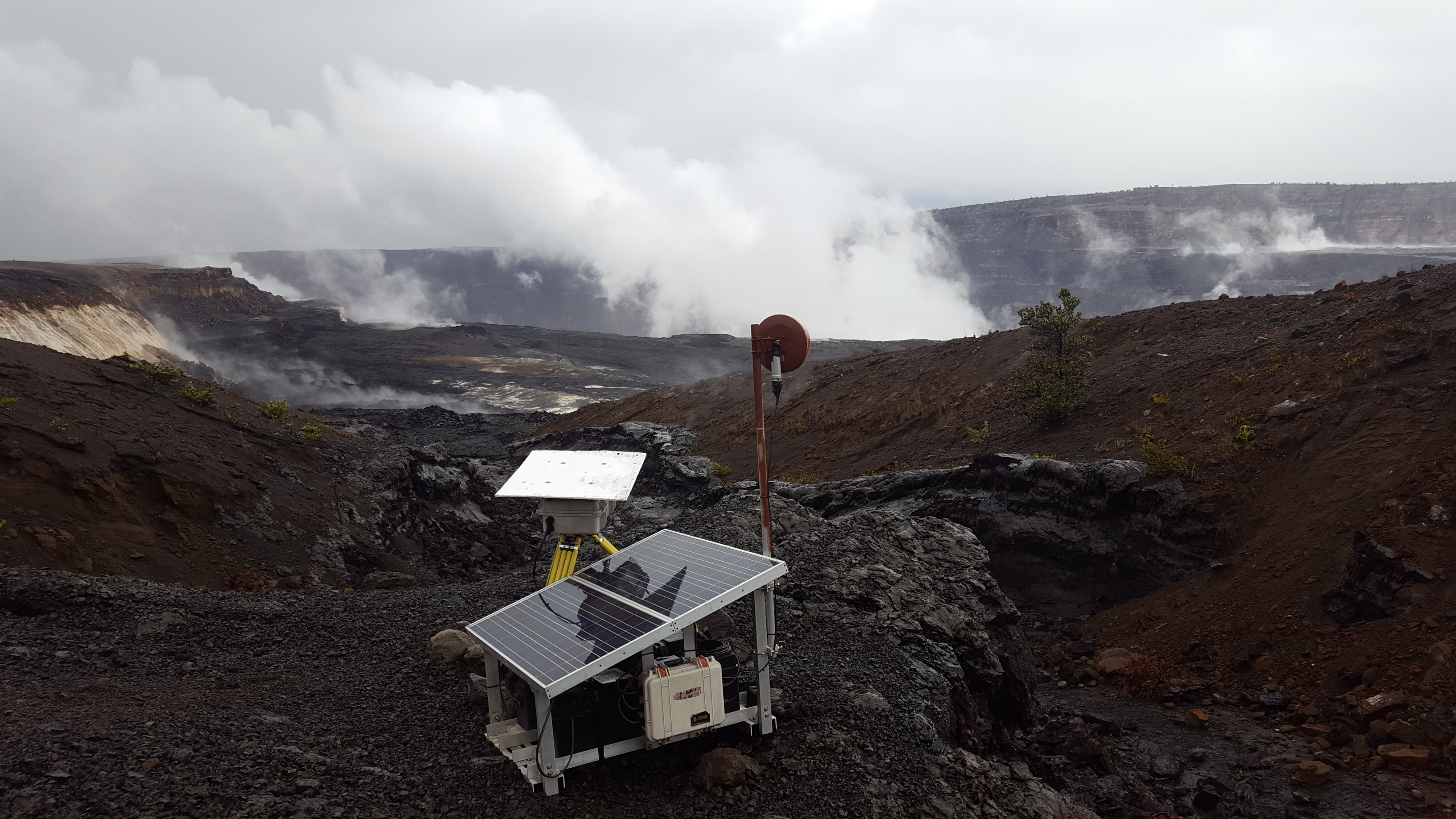 Explosive Collapse Event at Kīlauea Releases Energy Equivalent to 5.4 Earthquake
