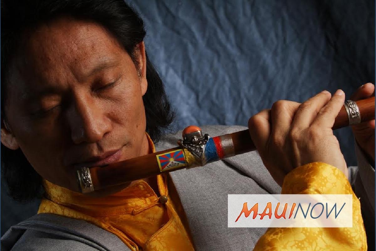 Grammy-Nominated Tibetan Flutist to Perform on Maui