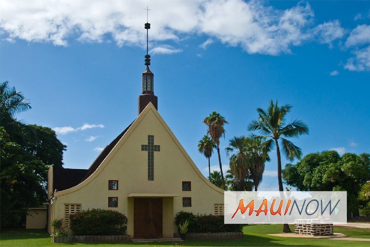 Waiola Church to Host Tropic Care in Lahaina