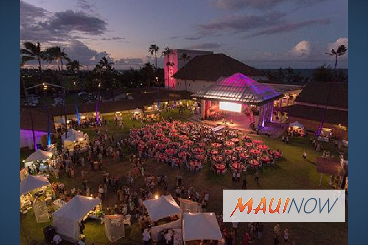 Tickets on Sale for the MACC's 2018 Maui Calls