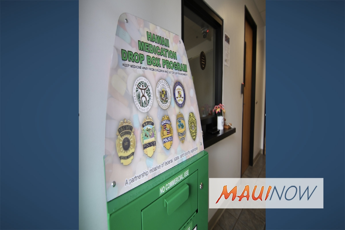 Hawai'i Launches Medication Drop Box Program