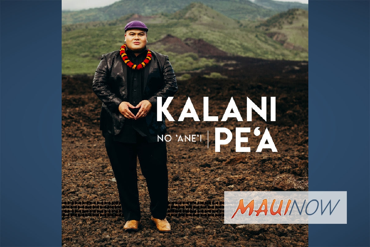 Grammy Award-Winning Artist Kalani Pe'a to Release New Album