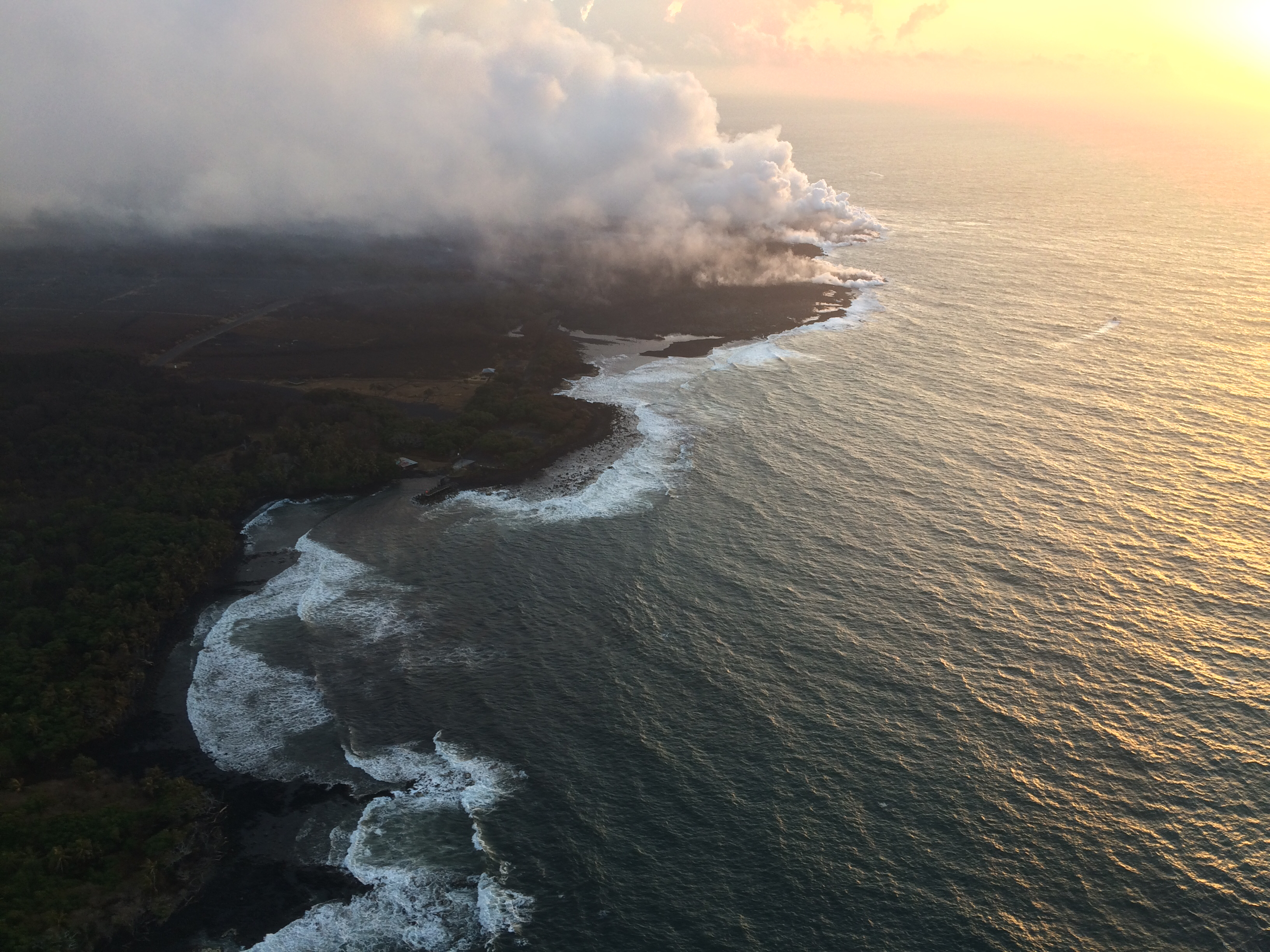 Third Circuit Court Upholds Land Board's Decision On Illegal Lava Boat Tours