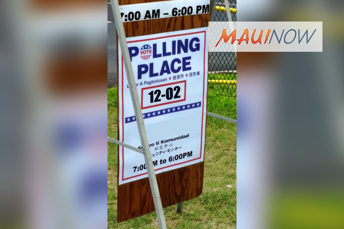 Election Day Reminders: Know Your Polling Place