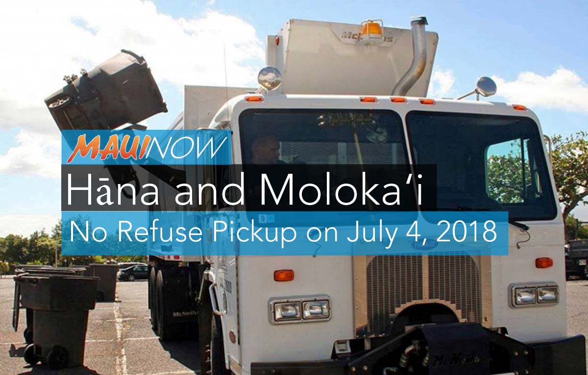 Hāna and Moloka'i Refuse Customers, No Pickup on July 4, 2018