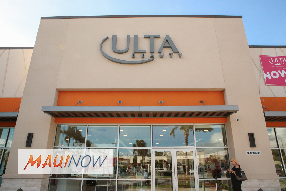Ulta Beauty Opens First Hawai'i Store on Maui