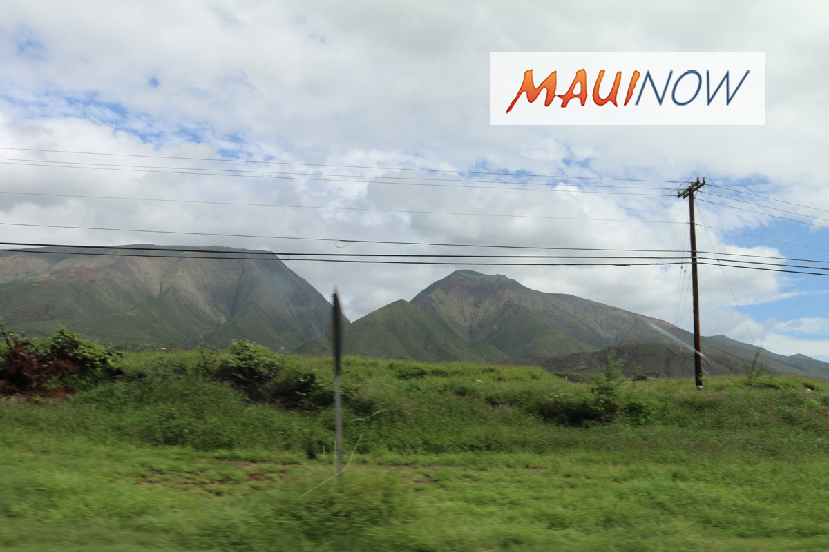 Planning Department Seeks Public Input on West Maui Community Plan