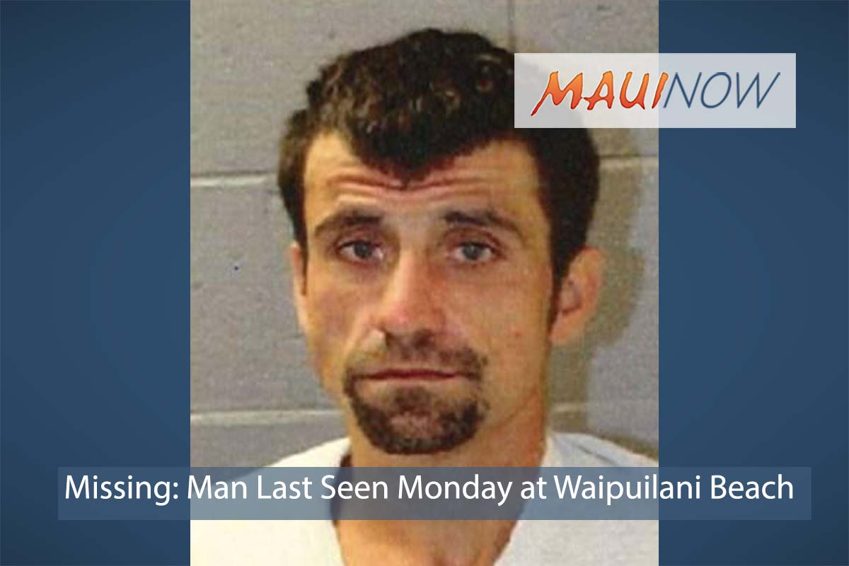 Missing: Man Last Seen Monday in Kīhei