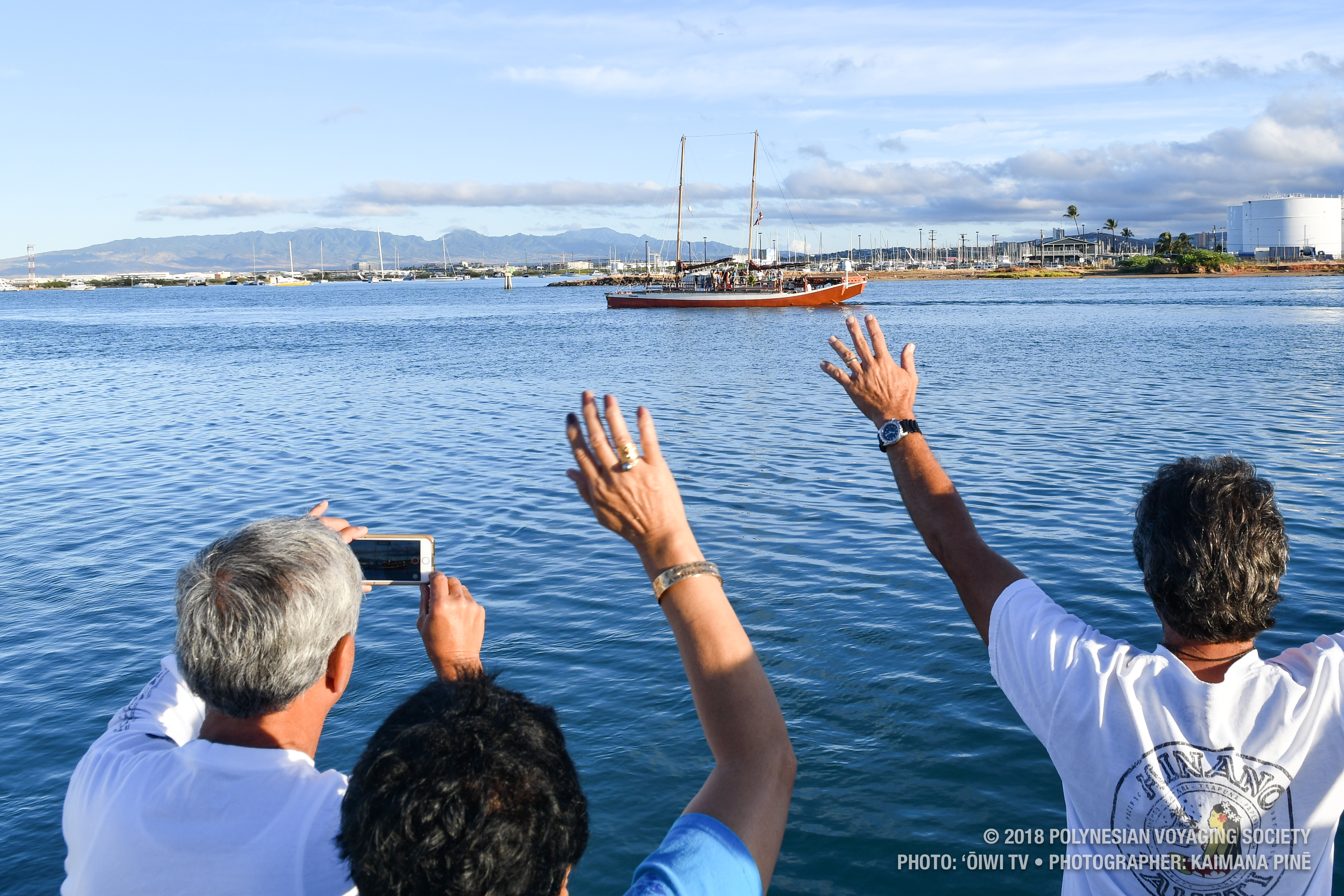 Hikianalia Departs for California After Nearly 3 Week Weather Delay
