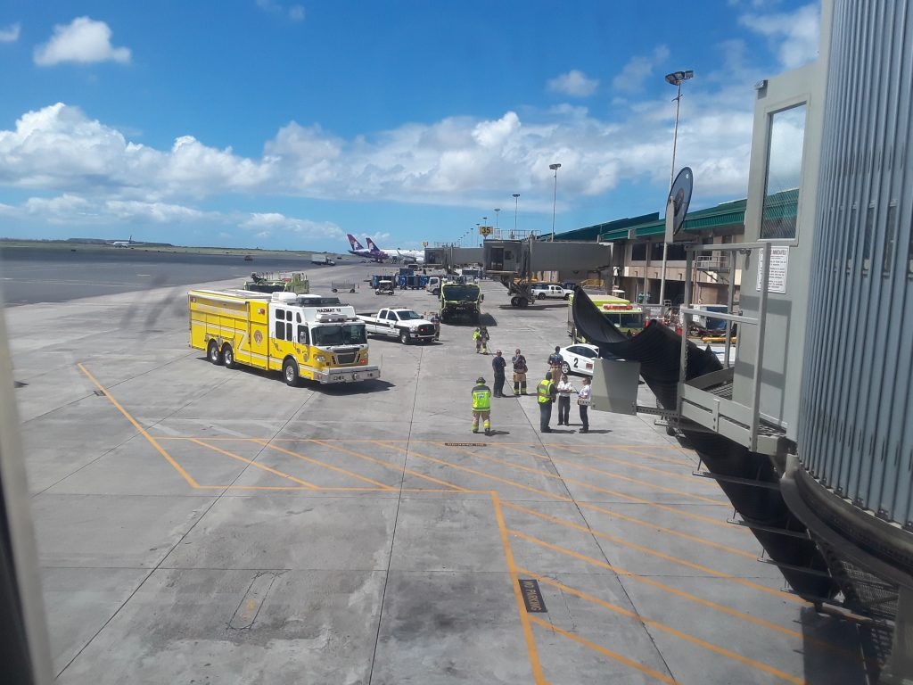 Pepper spray goes off aboard Hawaii flight
