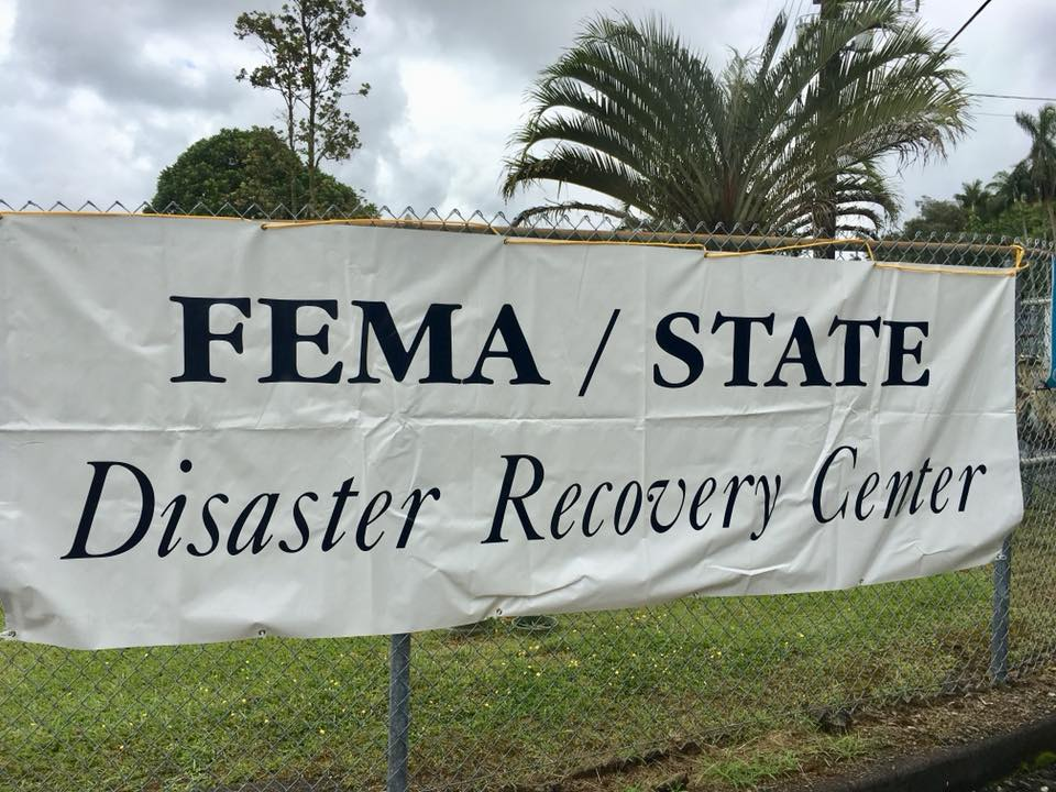 Kīlauea Disaster Recovery Center to Close on Aug. 8 Due to Hurricane Threat