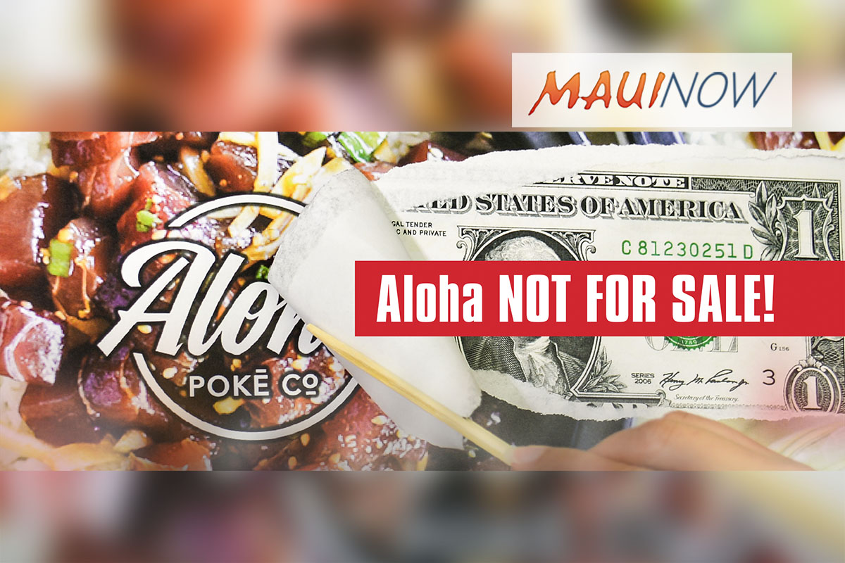 Stand for Aloha Rallies and March Planned Against Aloha Poke Co.