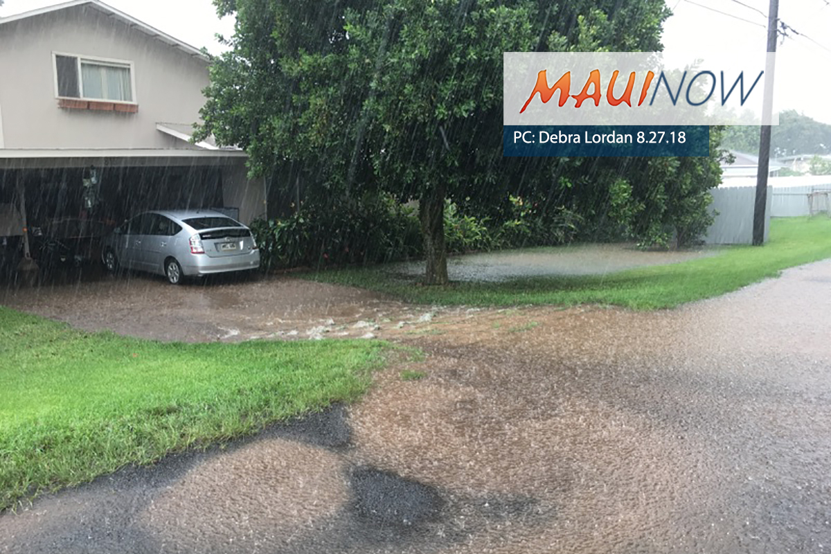 Heavy Flooding Over Parts of Maui: Local Area Report