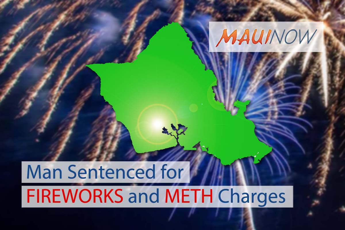 Man Sentenced to 7 Years, 4 Months for Fireworks and Meth Charges