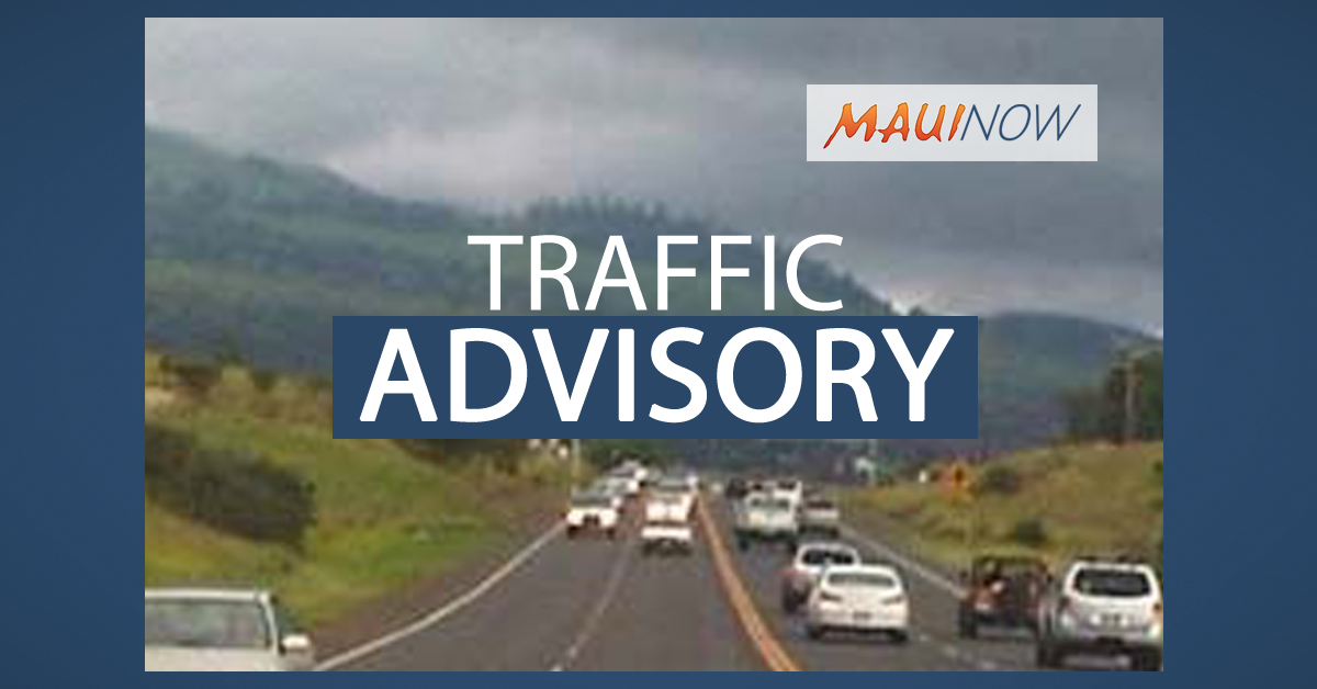 Traffic Advisory: Roadwork Near Kīhei Recycling Center