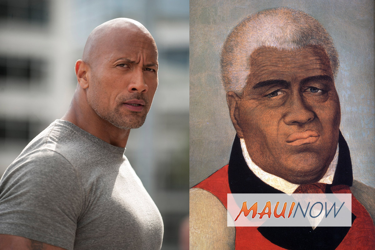 "Dwayne ""The Rock"" Johnson to Play Kamehameha I in New Film, THE KING"