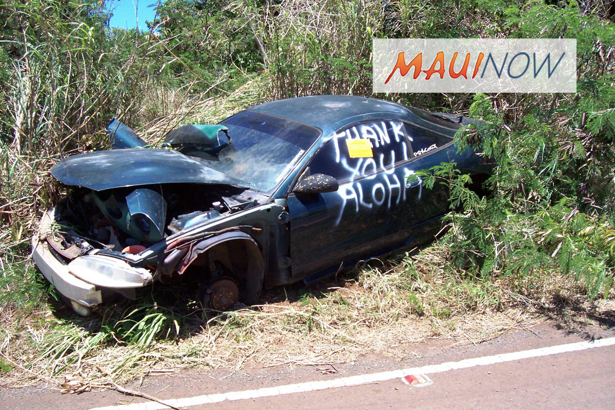 Maui Junk Vehicles Disposal Program Revived