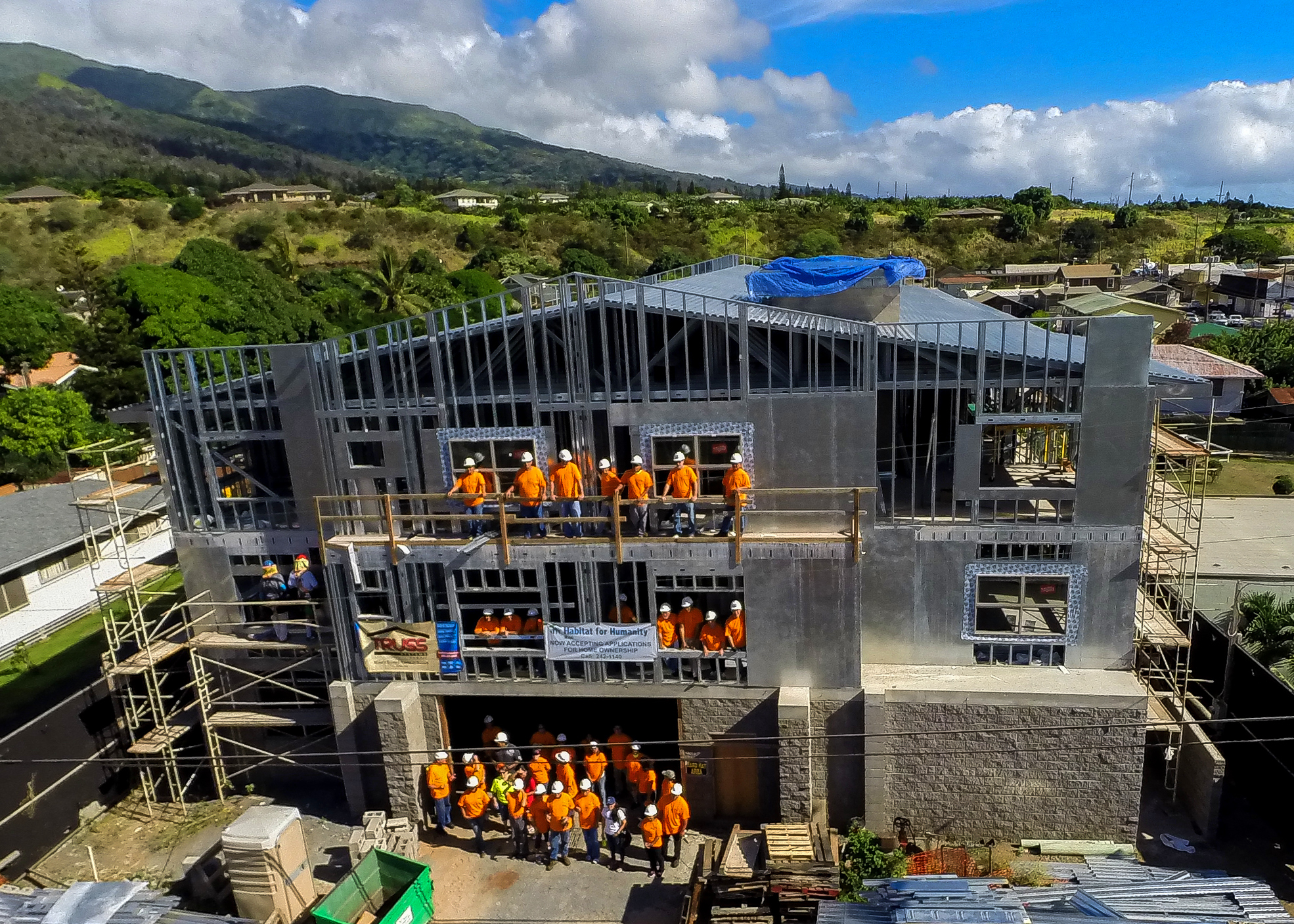 11th Annual Habitat Maui Build-a-Thon in Lahaina