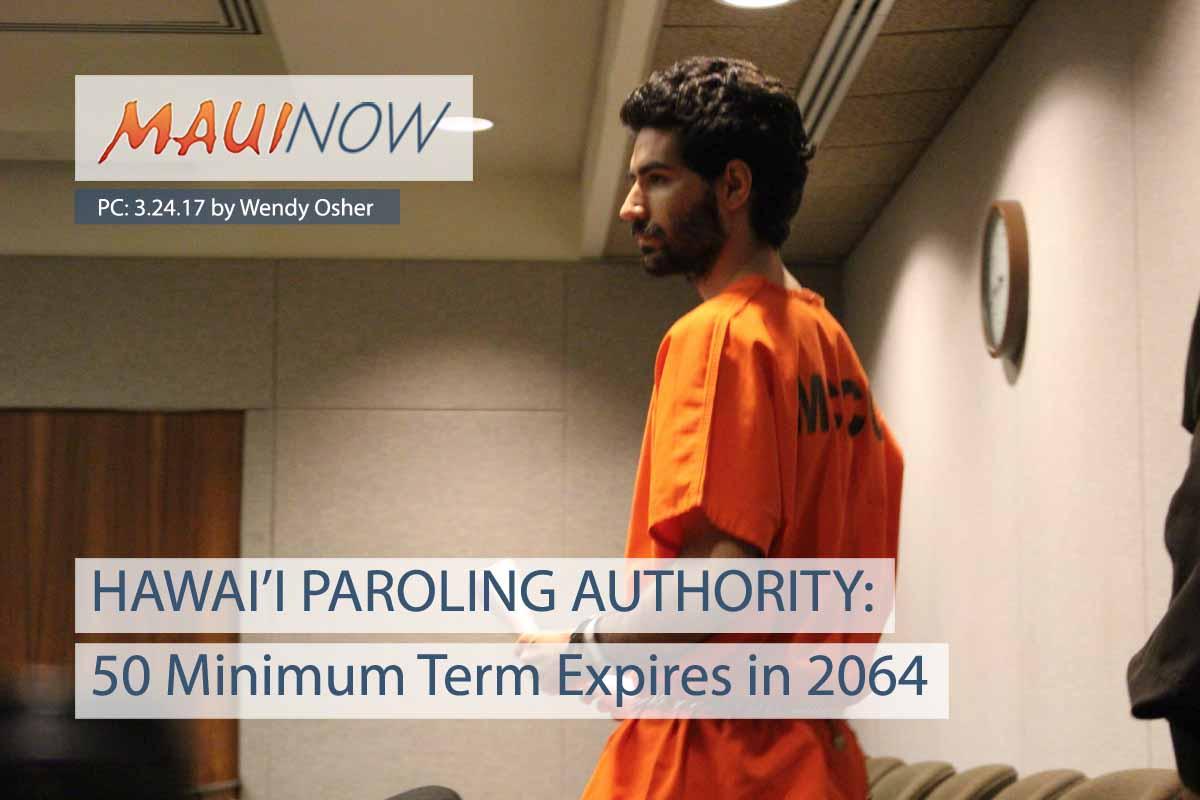 50 Minimum Term for Capobianco Expires in 2064