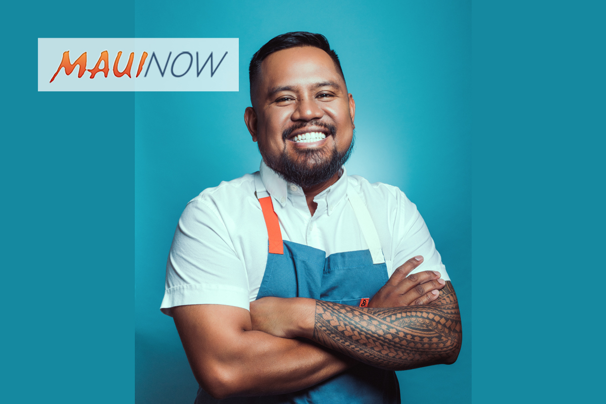 "Maui ""Top Chef"" Sheldon Simeon to Host Benefit Dinner for Alma Mater"