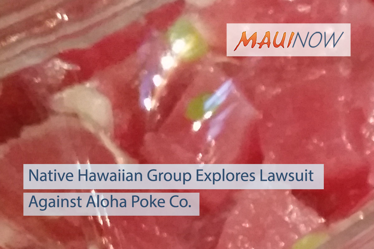 Native Hawaiian Advocacy Group Explores Lawsuit Against Aloha Poke Co.