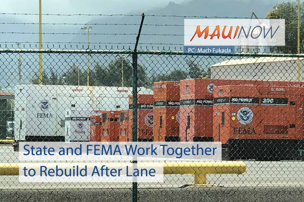 State and FEMA Work Together to Rebuild After Lane