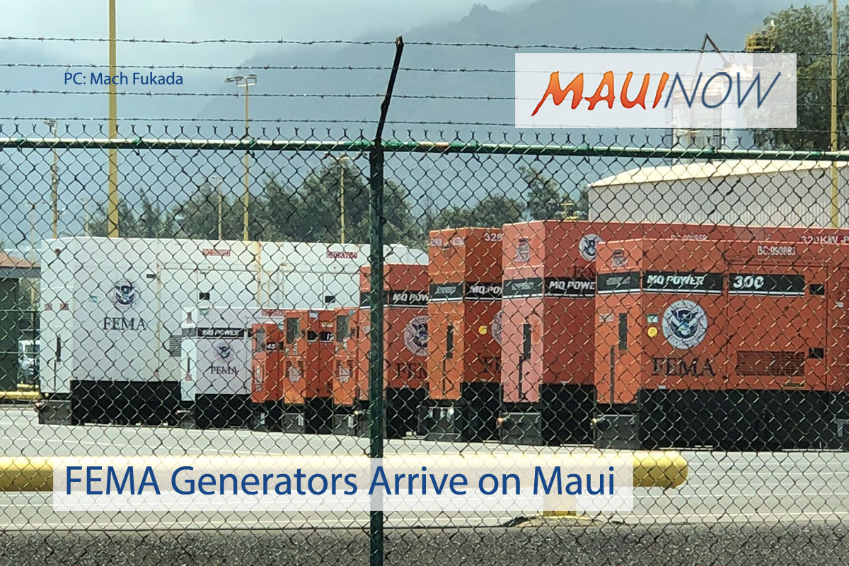 FEMA Lane Preparations Underway on Maui